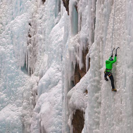 Ouray Ice climber